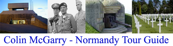 Colin McGarry Normandy Tour guide